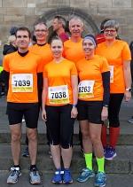 Gruppenbild Bremen Marathon
