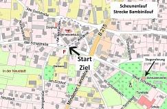 Strecke Bambinilauf©Turn-und Sportverein Estorf-Leeseringen