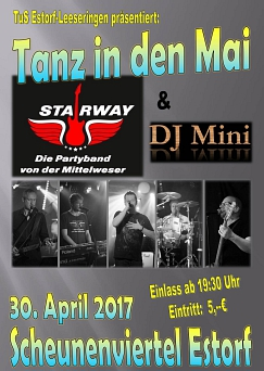 Tanz in den Mai 2017 © Turn-und Sportverein Estorf-Leeseringen